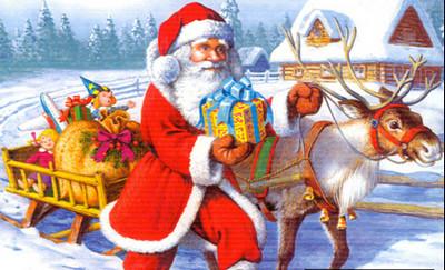 Hình nền ông già Noel, ông già tuyết đẹp nhất