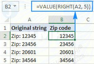 Hàm RIGHT trong Excel, cú pháp và ví dụ minh họa 9