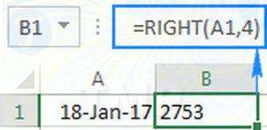 Hàm RIGHT trong Excel, cú pháp và ví dụ minh họa 10