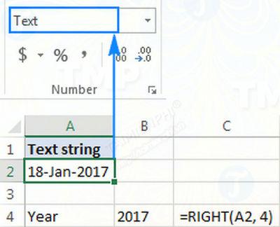 Hàm RIGHT trong Excel, cú pháp và ví dụ minh họa 12