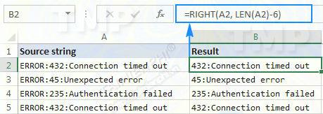 Hàm RIGHT trong Excel, cú pháp và ví dụ minh họa 8
