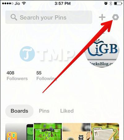 Cach sua loi Pinterest khong hoat dong tren iPhone iPad