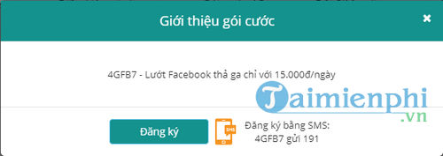 cach dang ky goi facebook viettel dung 3g 4g viettel luot facebook 5