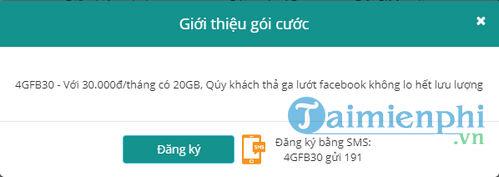 cach dang ky 4g viettel goi youtube facebook 4gyt 4gfb 7
