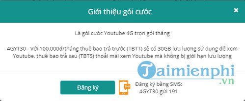 cach dang ky 4g viettel goi youtube facebook 4gyt 4gfb 4