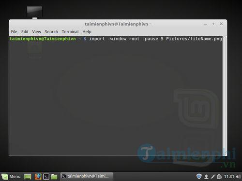 Cách chụp màn hình trên Linux