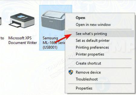 Cách sửa lỗi máy in bị offline, không in được 10