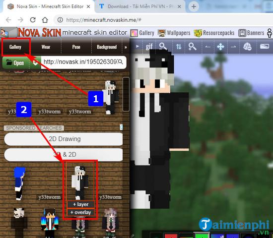 Cách tạo Skin Minecraft tùy chỉnh, theo ý thích