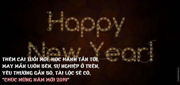 Thiệp chúc năm mới đẹp