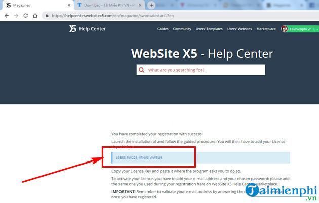 giveaway ban quyen mien phi website x5 start 14 5