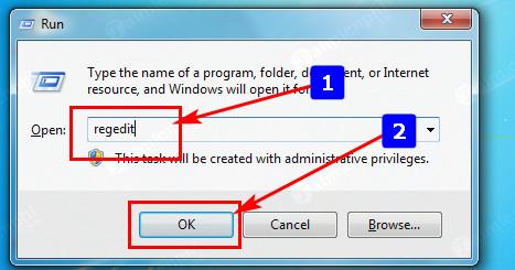 Cách vào Registry Editor trên Windows 10 4