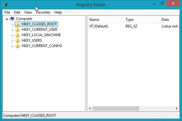 Cách vào Registry Editor trên Windows 10 7