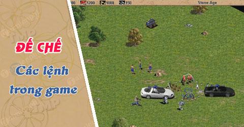 Cách lệnh trong Đế Chế, mã lệnh chơi Age of Empires
