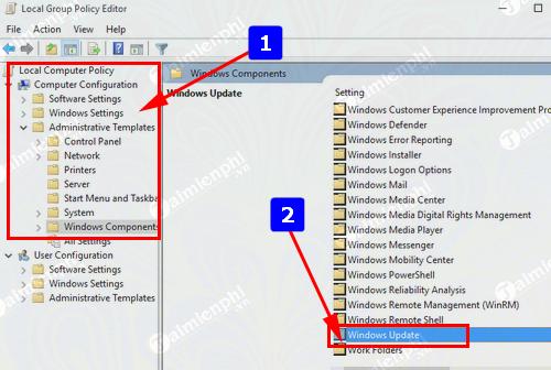 cach tat update windows 10