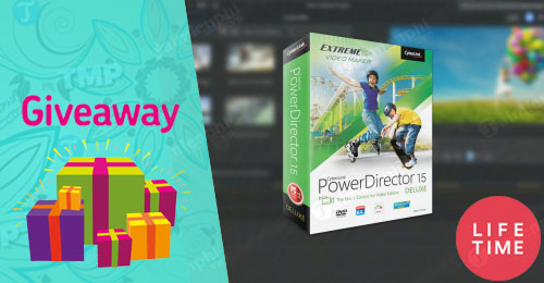 giveaway cyberlink powerdirector