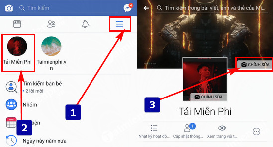 How to change your facebook beer on your phone