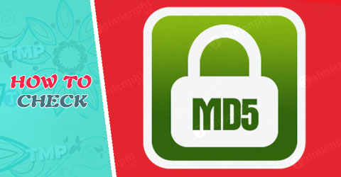 check md5 bang md5 checker