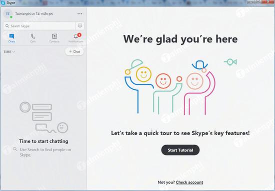 Cài Skype cho máy tính, Windows 10, phần mềm chat, gọi điện