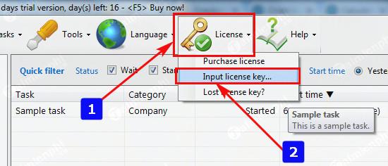 Giveaway) Bản quyền miễn phí Easy Work Time Calculator, tính