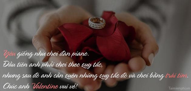 Lời chúc Valentine hay nhất, ngọt ngào và ý nghĩa 2