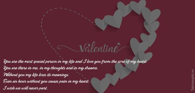 loi chuc valentine hay y nghia