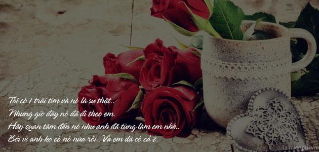 loi chuc valentine tang nguoi yeu lang man