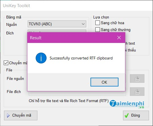 How to edit standard fonts in word bang unikey