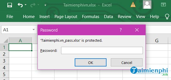 Phá pass Excel, gỡ bỏ mật khẩu của Sheet trong Excel 12
