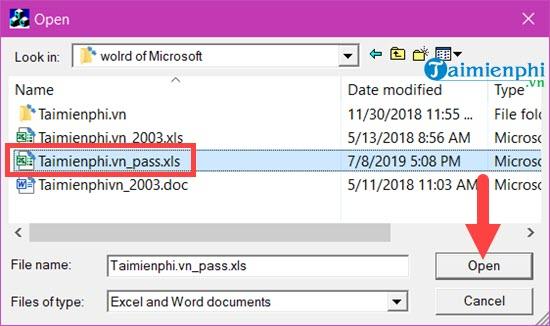 Phá pass Excel, gỡ bỏ mật khẩu của Sheet trong Excel 16