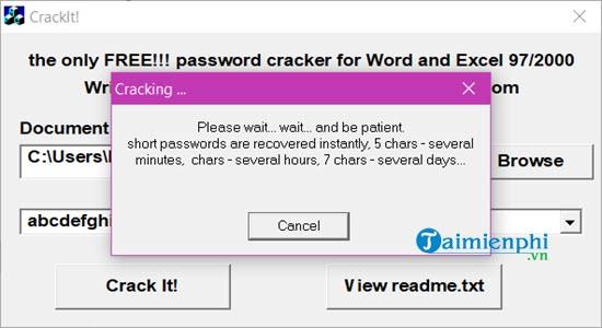 [TaiMienPhi.Vn] Cách phá pass Excel, gỡ bỏ mật khẩu của Sheet trong Excel
