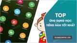 Top ứng dụng học tiếng Hàn tốt nhất