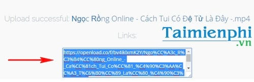 Cách up video lên Openload, đăng, tải video trên internet